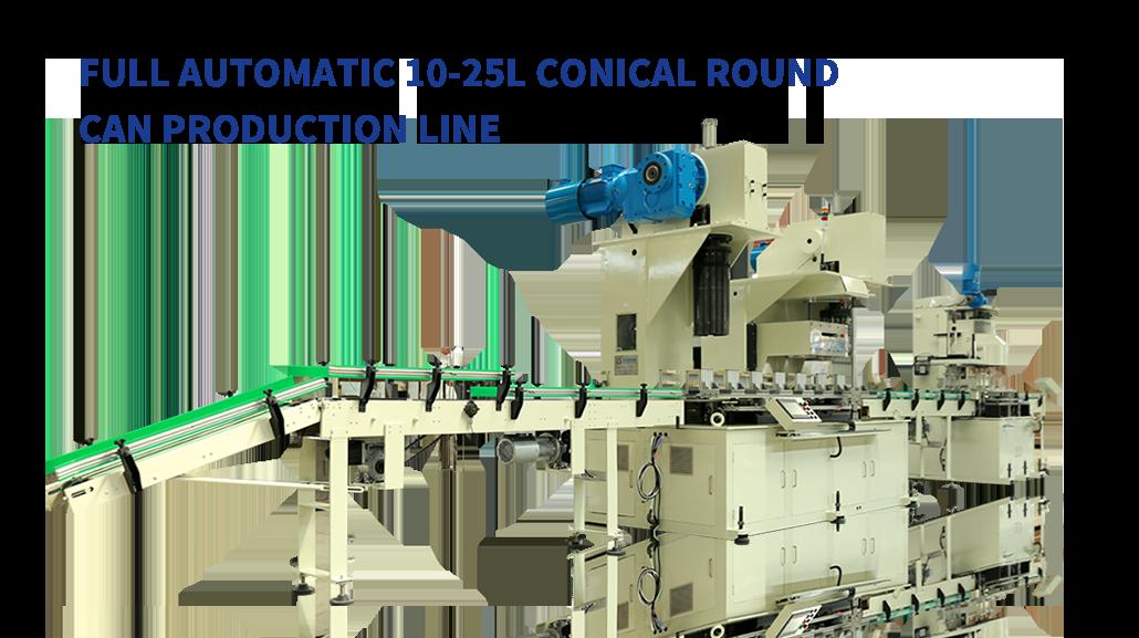 Automatic Conical Pail Production Line