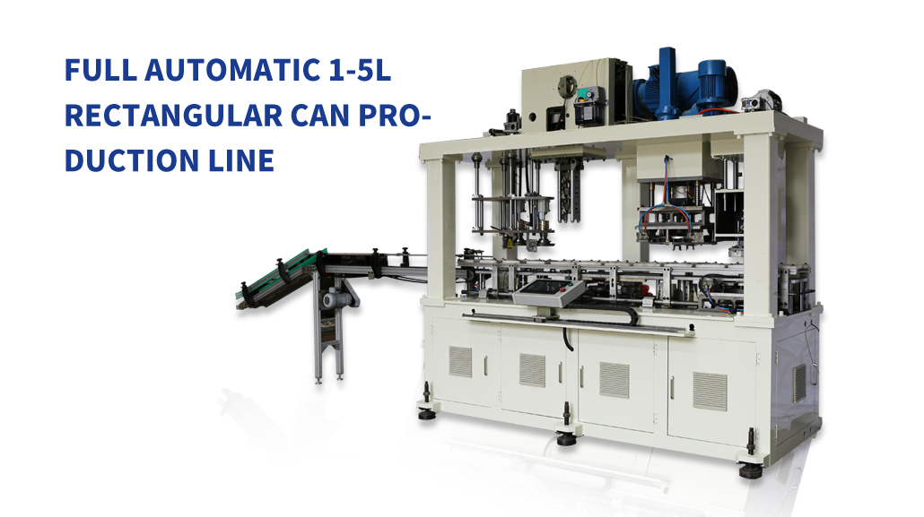 4L Full automatic can body combination machine