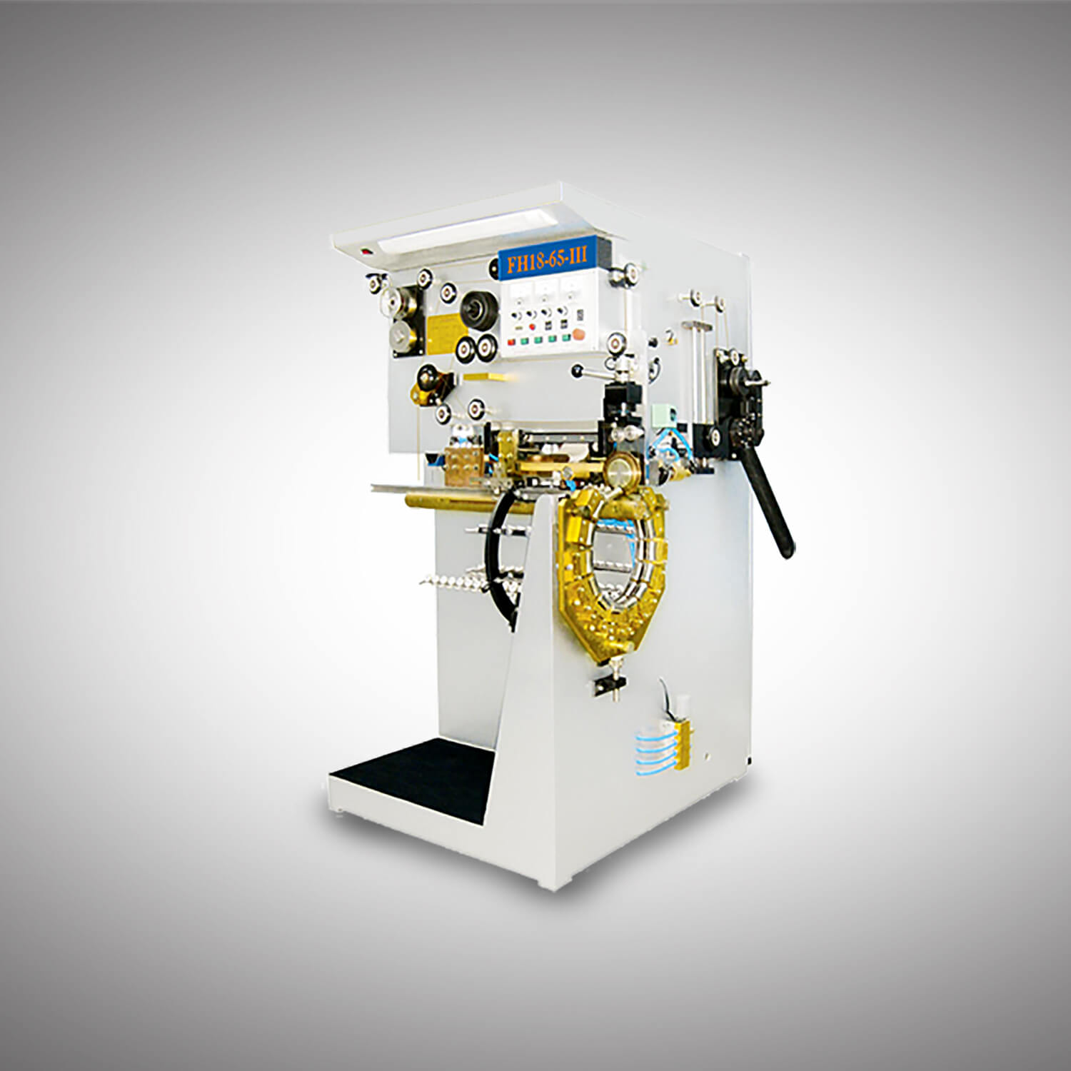 Semi Auto 10-25L Conical Round Can production line-3