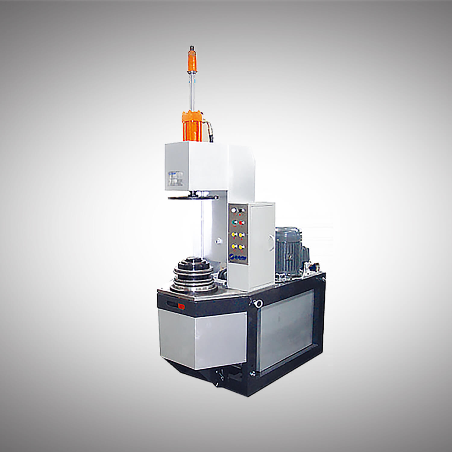 Semi Auto 10-25L Conical Round Can production line-7