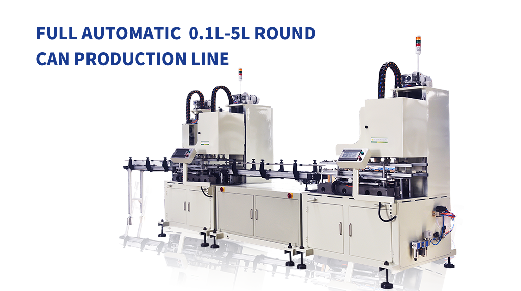 Automatic Small Round Can Production Line