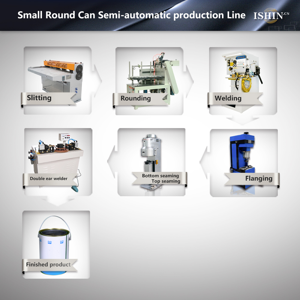 0.1L-5L Round Can production Line