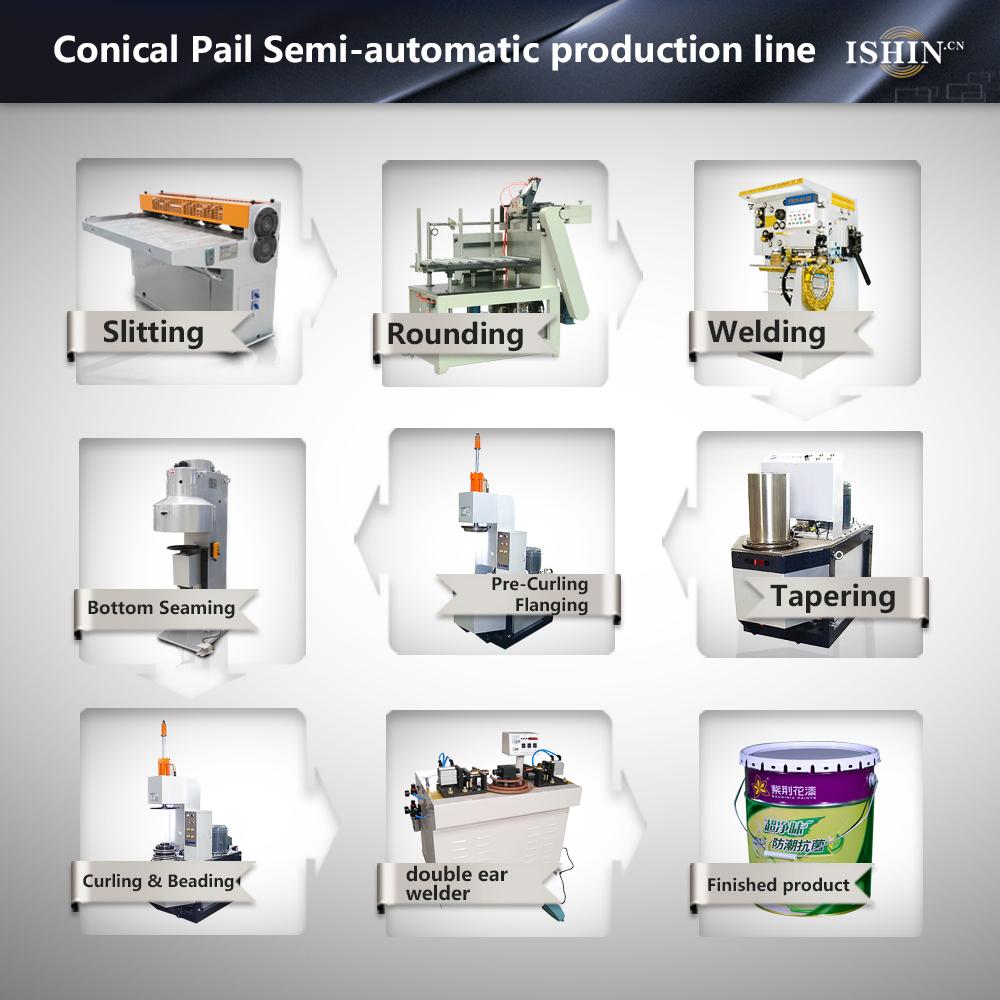 10-25L Conical Pail production line