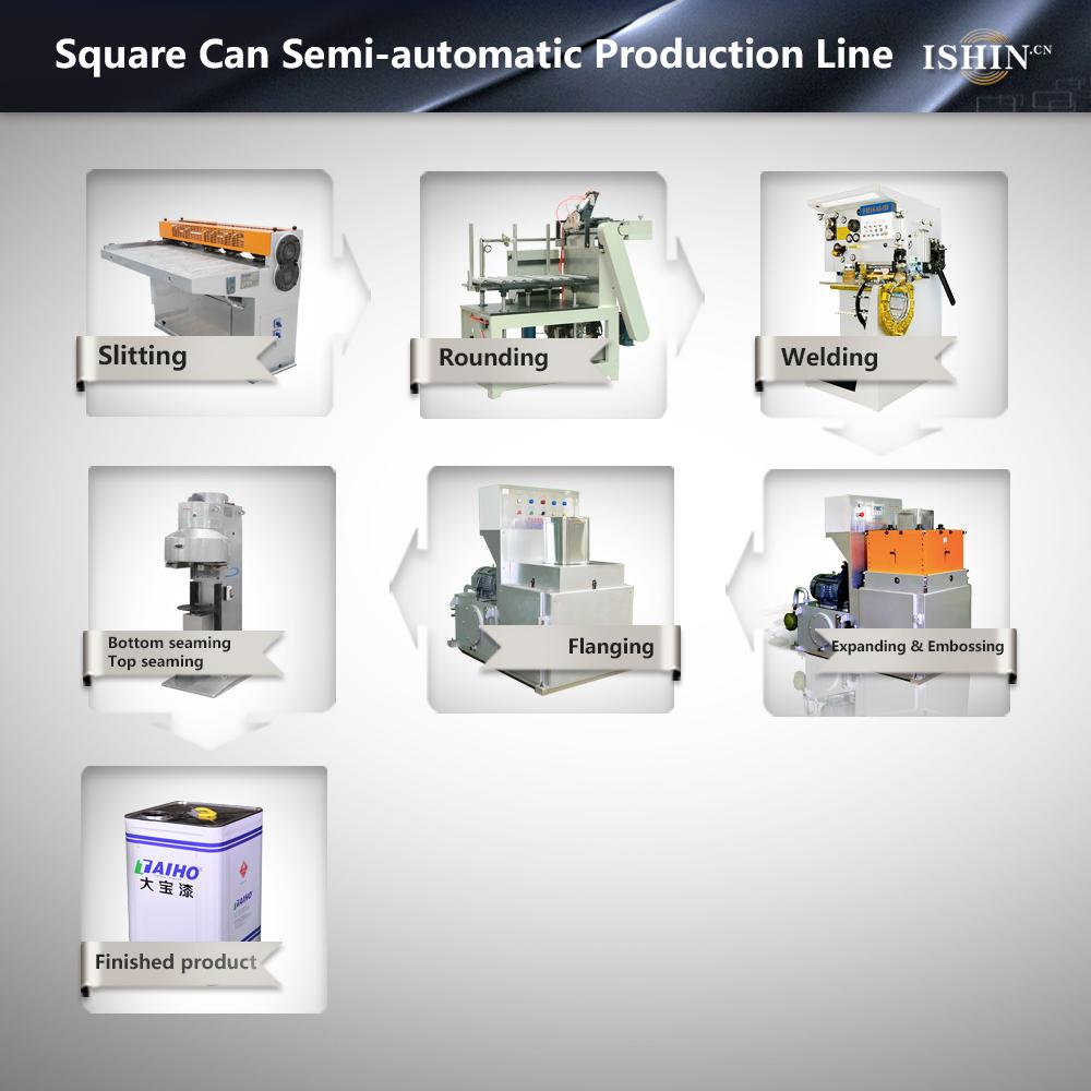 10L-20L Square Can Production Line
