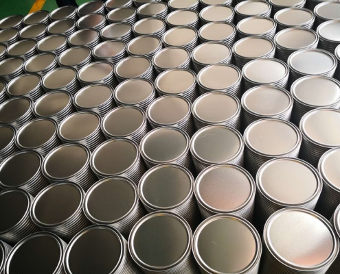 The Application of Stretched Round Small Tin Cans in Various Industries